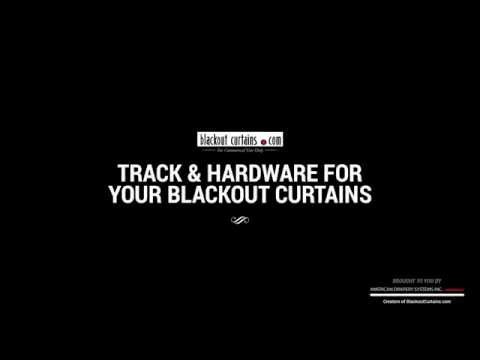 Track -  Blackout Curtains