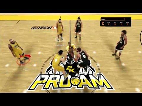 NBA 2K16 Pro AM Walk On | Big Game Alert | I'm Back!!!