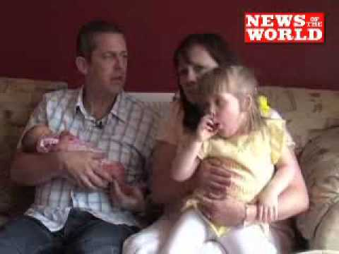 Twins.. born 4 years apart _ Miracle as IVF tot breaks UK record. _ News Of The World.flv
