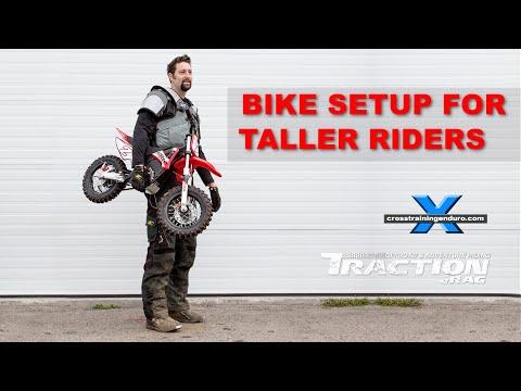 TALL RIDER BIKE SETUP Cross Training Enduro Skills