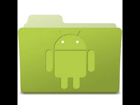 How to create a folder on your Android Phone or Tablet for your apps Tutorial