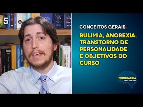 Conceitos Gerais: Bulimia, Anorexia, Transtorno de Personalidade e Objetivos do curso