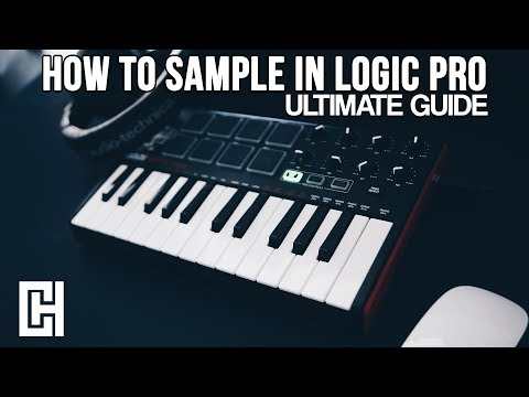How To Sample in Logic Pro X 2018 (Tutorial)
