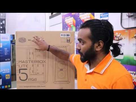 Cooler Master Masterbox Lite 5 RGB   Budget RGB Cabinet Case