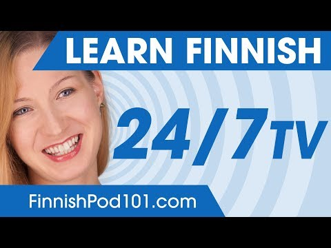 Learn Finnish in 24 Hours with FinnishPod101 TV