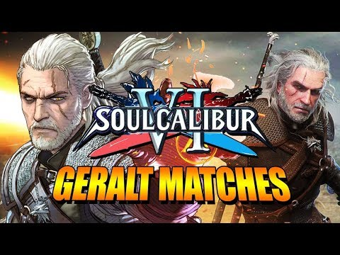GERALT OF RIVIA - 4K Full Matches: Soul Calibur 6