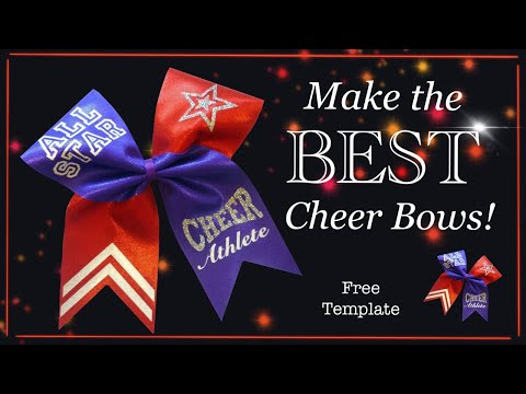 How to make a cheer bow  professional standard - with Lisa Pay