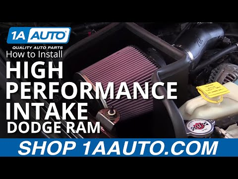 How to Install High Performance Intake Kit 2003-08 Dodge Ram 5.7L BUY QUALITY PARTS AT 1AAUTO.COM