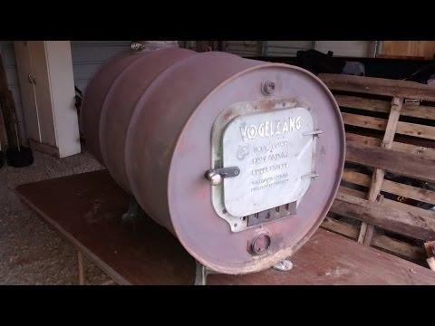 Barrel Burner wood stove