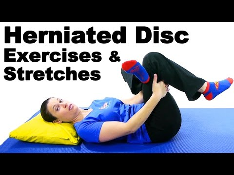 Herniated Disc Exercises & Stretches - Ask Doctor Jo