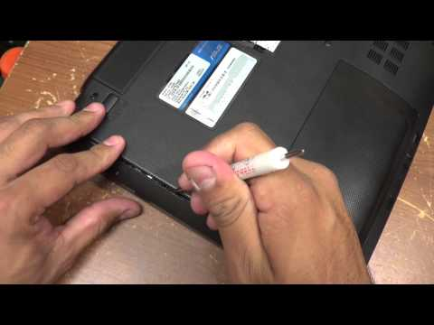 How to Replace CD / DVD-ROM on a Laptop (ASUS K53U)