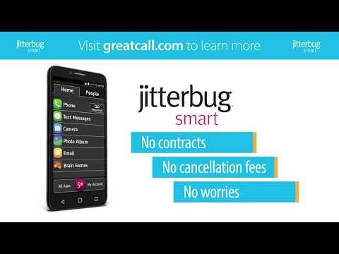 The Jitterbug Smart is the Best No Contract Cell Phone for Seniors | GreatCall