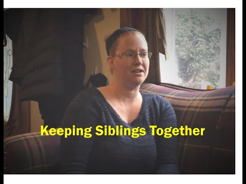 Sibling Groups in Wisconsin Foster Care