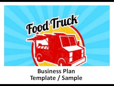 Business Plan for a Food Truck Template Sample