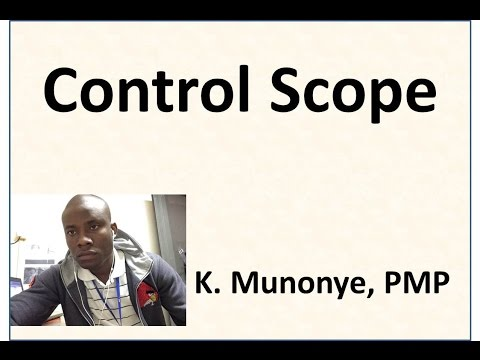 12 Project Scope Management   Control Scope