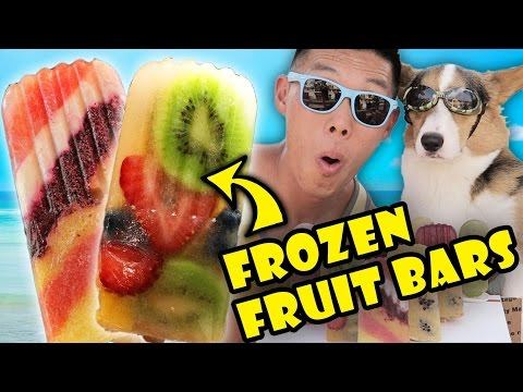 SUMMER POPSICLES FROZEN FRUIT BAR DIY | REFRESHING & HEALTHY - Life After College: Ep. 491