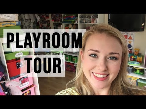 PLAYROOM TOUR UPDATED - WHAT'S IN THE BOXES