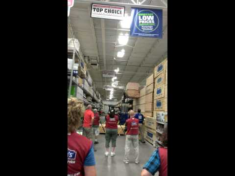 2x4 mess at Lowe's