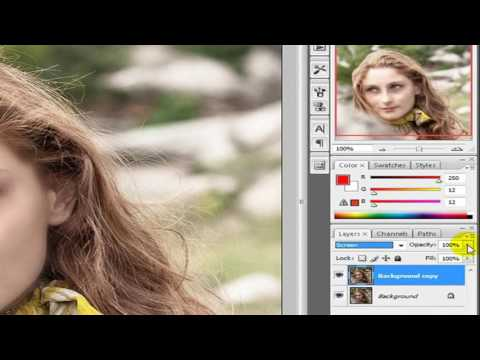 How to make whiteness on face in adobe Photoshop cs5 cs6 7 0 cs4 cs3