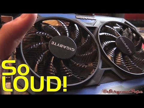 Gigabyte GTX 960 running at 100% fan speed randomly - BROKEN GRAPHICS CARD!