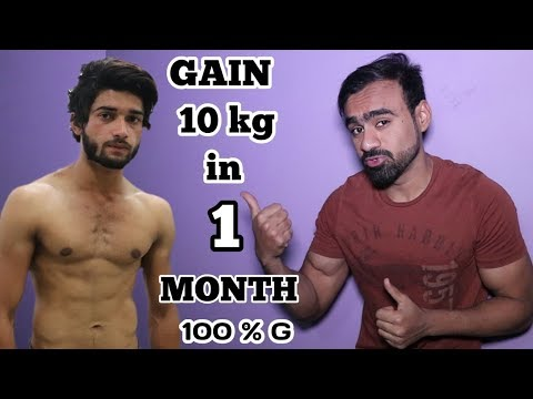 How to Gain Weight in 1 Month Naturally | Qureshi Fitness