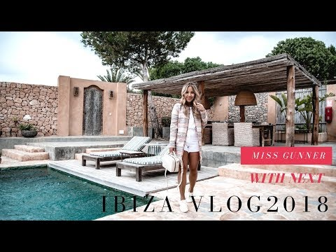 MY IBIZA VLOG 2018  + HOLIDAY OUTFIT IDEAS | MISS GUNNER | ASHLEY SCHUBERG