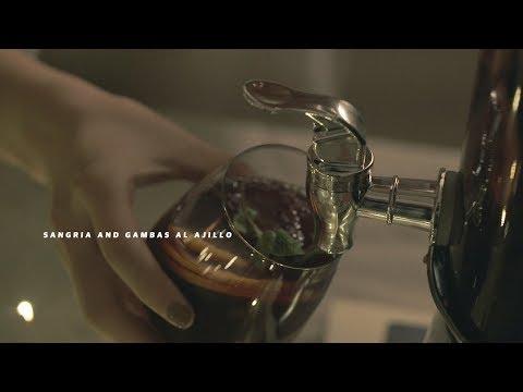 술키의 꿀안주, 샹그리아와 감바스 알 아히요 : Sangria and Gambas al ajillo | Honeykki 꿀키