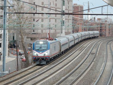 Railfan NEC at Elizabeth
