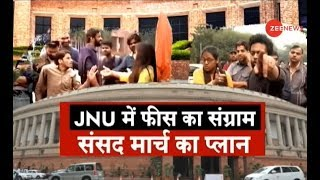 Police force on alert after announcement of JNU student union's march to Parliament