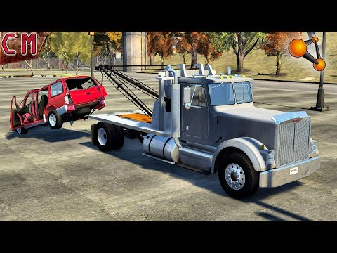 Tow Truck Job in BeamNG Drive #2