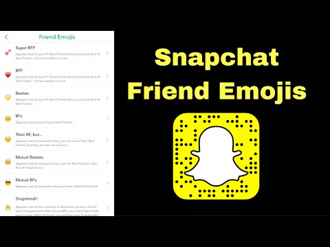 Snapchat: Friend Emojis 😁🔥
