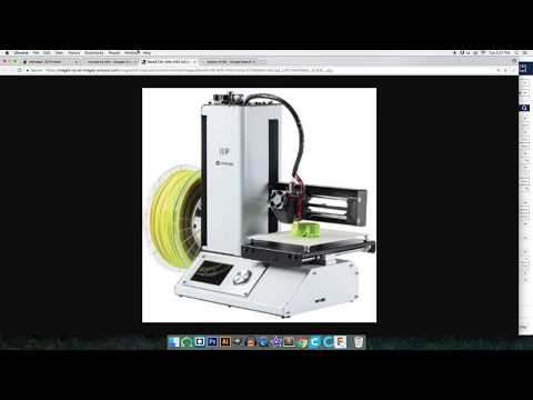 MonoPrice Mini custom Cura 2.5 Profile Setup