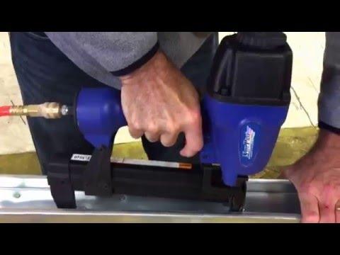 Attaching light gauge steel studs together