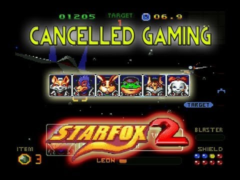 Cancelled Gaming - Star Fox 2