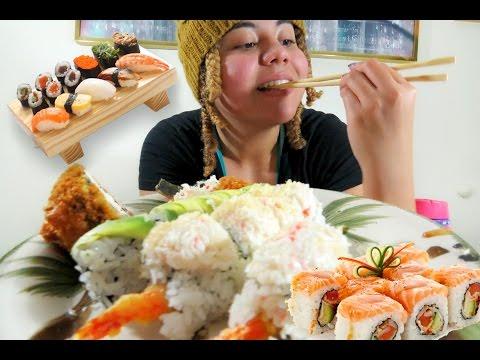 Sushi Mukbang 🍣