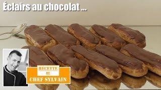 Éclair Au Chocolat - Comme Chez Le Pâtissier !