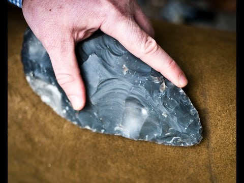 Stone Age Hand Axe Shaped by Complex Brain