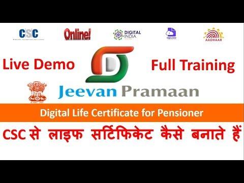 CSC से लाइफ सर्टिफिकेट कैसे बनाते हैं | How to make digital life certificate from csc portal