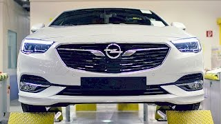 Opel Insignia (2017) Ready to fight VW Passat [YOUCAR]
