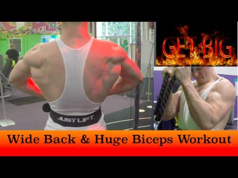 Massive Back & Biceps Workout | GET BIG - Week 3/52