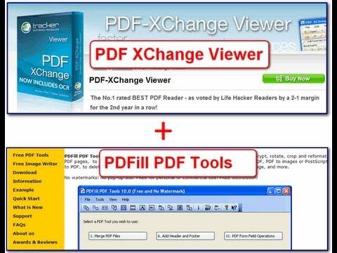 Make Your Own Ebooks w/ PDF-XChange & PDFill PDF Tools