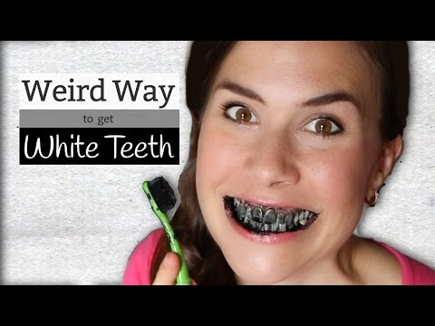 Activated Charcoal - Weird Way to Whiten Teeth