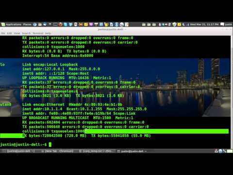 how to check your bandwidth usage in linux (via the terminal)