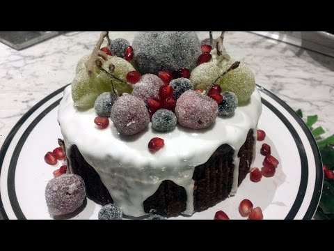 How to: Sugar Frosted Fruit Decoration for Cake
