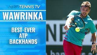 Stan Wawrinka: Best-Ever ATP Backhands