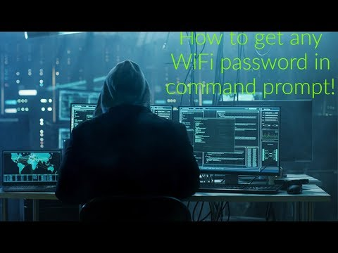 How to hack wifi using command prompt -