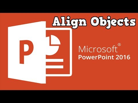 How to Align Shapes or Pictures in PowerPoint 2016/2013