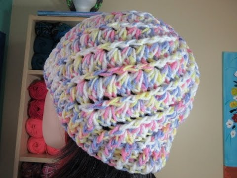 Crochet easy hat for adults - with Ruby Stedman