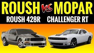 ROUSH Mustang 428R vs Challenger RT | STREET RACE!