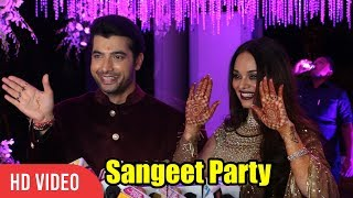 Sharad Malhotra and Ripci Bhatia's Sangeet Party | FULL VIDEO